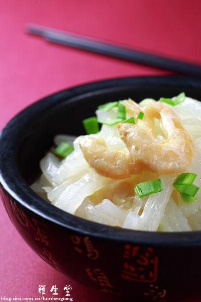 虾米烧萝卜