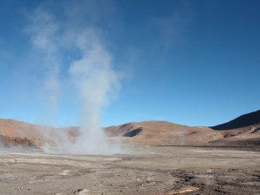 智利的阿塔卡马沙漠(Atacama Desert)