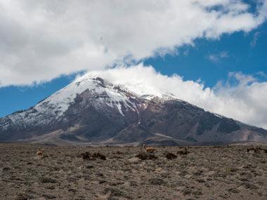 厄瓜多尔的钦博腊索山(Mount Chimborazo)