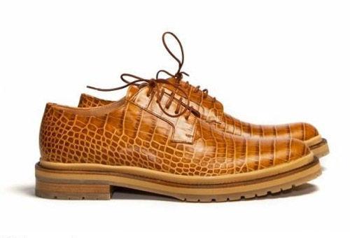 阳刚厚底鞋雌雄同体引领时尚潮流趋势