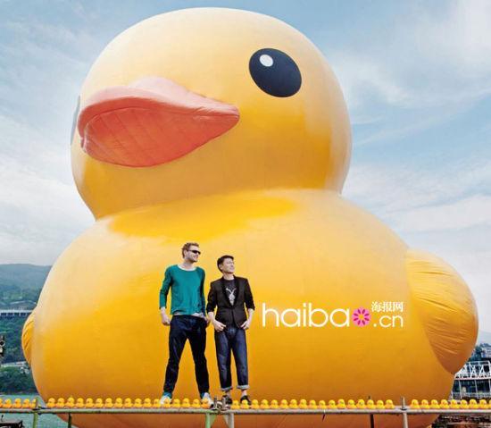 组图:大黄鸭创作者的其他艺术装置作品欣赏