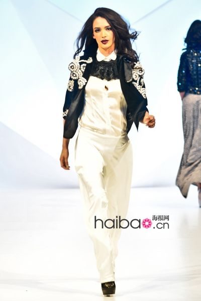 时装品牌Tahir Sultan作品