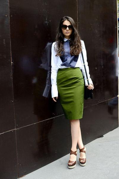 时尚轮回转让铅笔裙再登女性潮流舞台