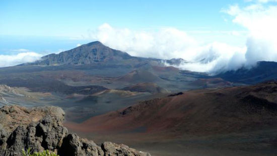 毛伊岛的哈雷阿卡拉山
