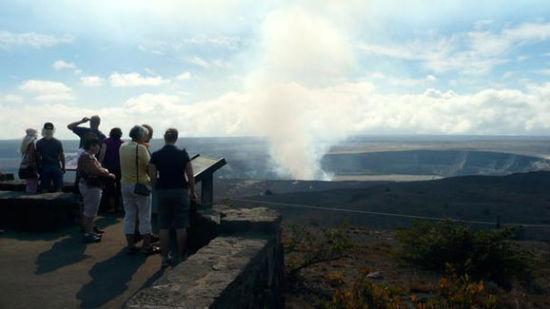 当前地球最活跃的火山——夏威夷大岛的基拉韦厄火山