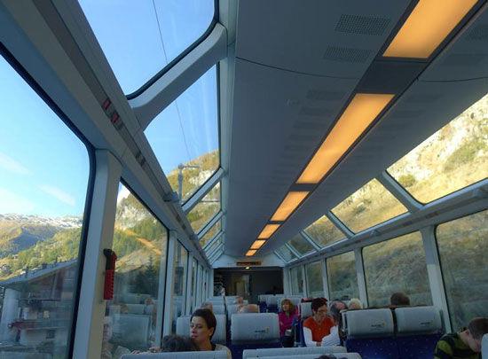 冰河列车穿梭森林溪谷