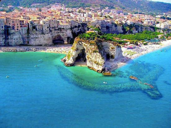 卡拉布利亚的特罗匹(意大利南部)