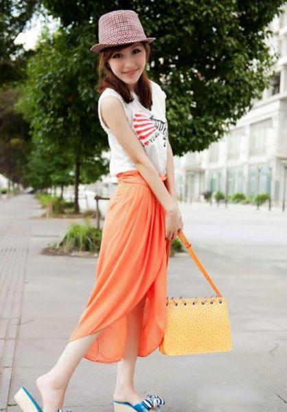 组图:搜罗2013初夏上海最新的潮流时尚街拍