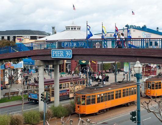 旧金山的渔人码头