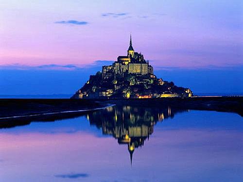 法国圣米歇尔山城堡