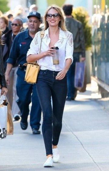 欧美女星教你穿出最美大牌范的逛街装