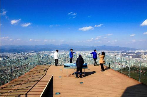 大邱前山公园琵琶山展望台