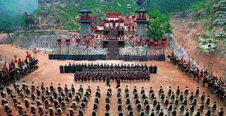 金城武&《赤壁》:河北涿州影视基地