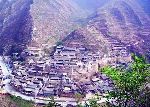 《投名状》北京门头沟的爨底下村