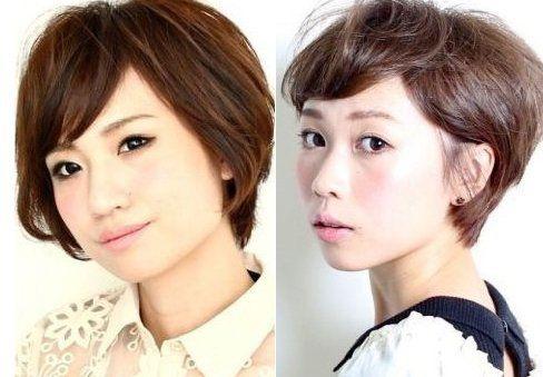 组图:美发达人教你打造适合圆脸女生的短发