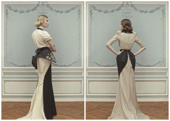 婚礼上的乱世佳人 Ulyana Sergeenko高定礼服