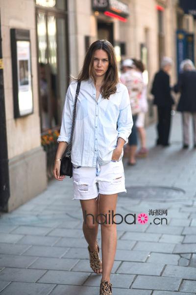 瑞典时尚博主兼街拍摄影师Caroline Blomst