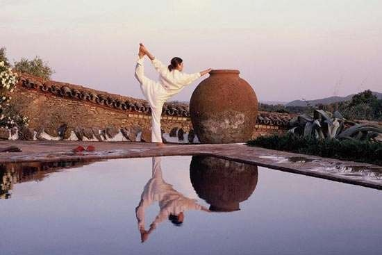 西班牙Trasierra酒店的瑜伽静修课程