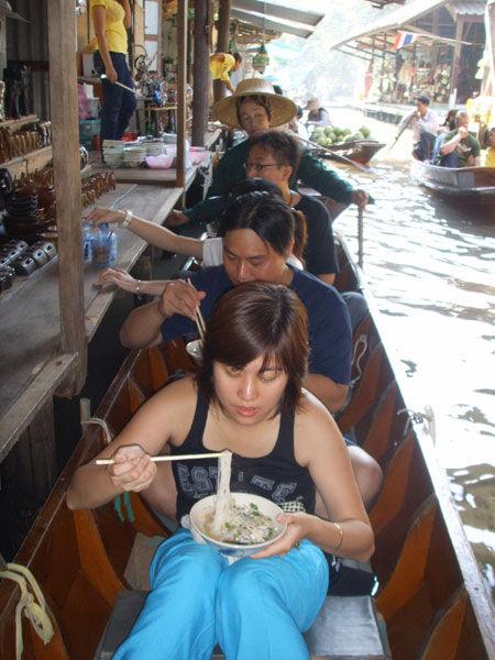 丹能莎朵水上市场-泰国曼谷