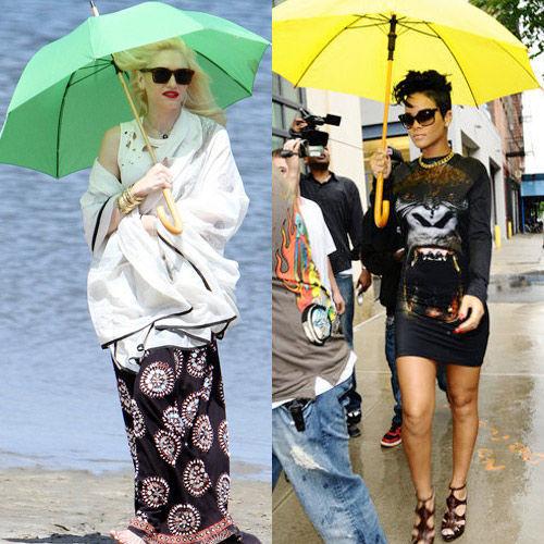 格温-斯蒂芬妮(Gwen Stefani)VS蕾哈娜(Rihanna)