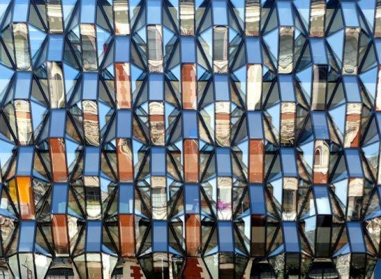 英国伦敦反射面建筑