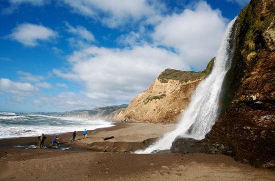 美国加利福尼亚雷斯岬国家海滨公园