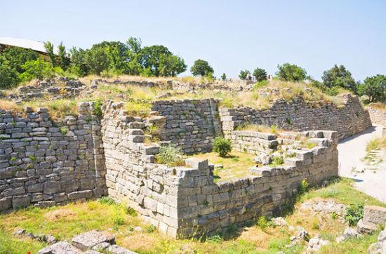 特洛伊战争遗址(土耳其特洛伊)