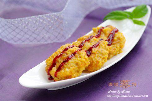 果香奶酪杂粮蒸饼