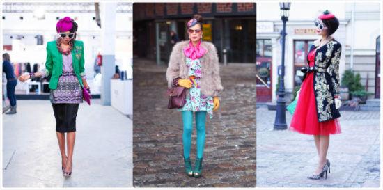组图:波兰时尚博主倾诉活在色彩世界里的女孩