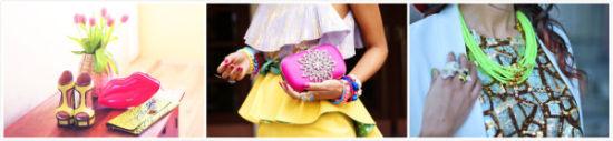 波兰时尚博主倾诉活在色彩世界里的女孩