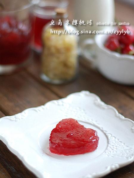 皂角米樱桃冻成品