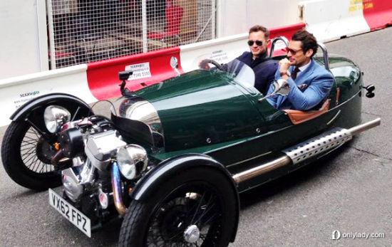 Dolce&Gabbana引领伦敦男装周街头型格绅士狂潮