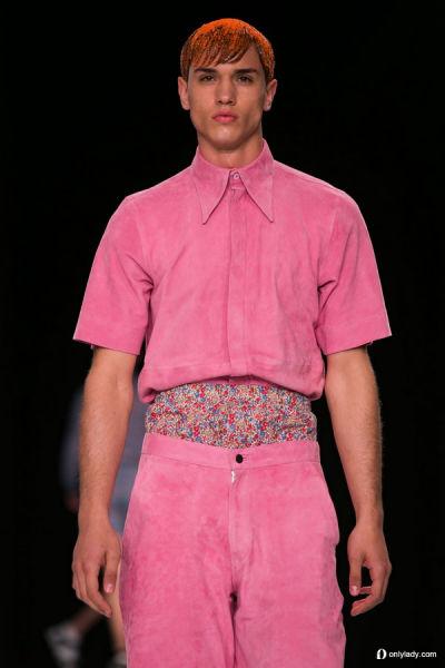 Christopher Shannon 2014 春夏伦敦男装周