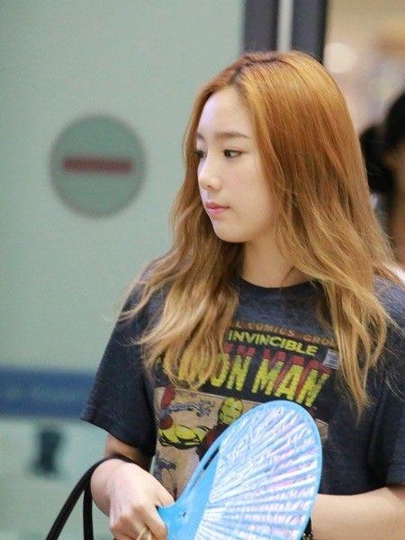 泰妍:印花T恤