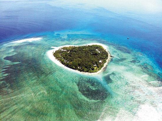 天堂在左斐济在右乐天国度里的蓝色之恋(组图)