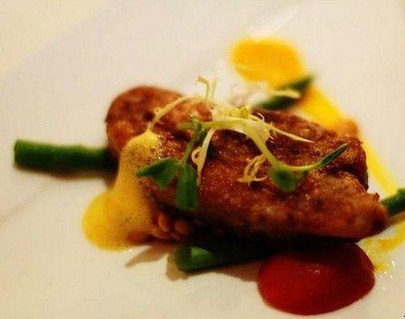 法式香煎鹅肝沙拉