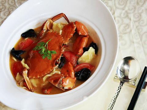 番茄木耳疙瘩蟹