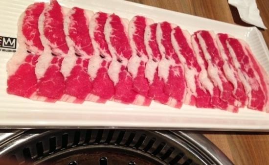 冰过的牛肉