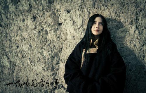 Angelababy穿藏族服装