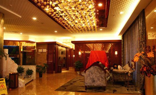 江南美景酒店内景