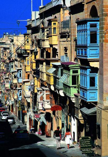 瓦莱塔街景