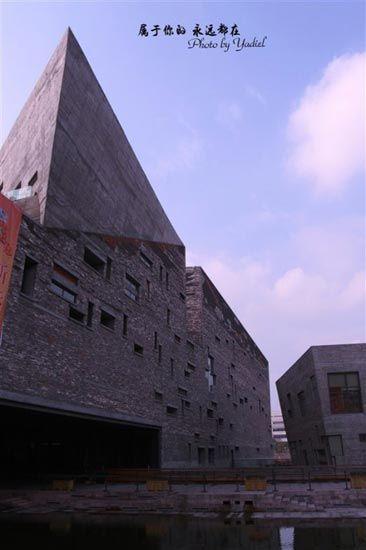 宁波博物馆独特的建筑风格