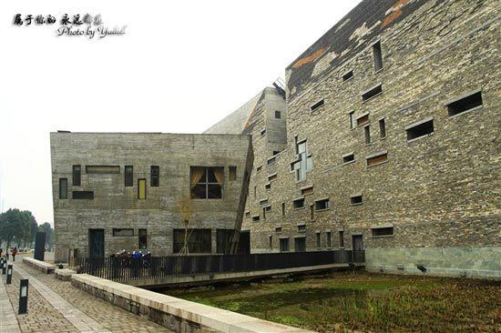 不拘于传统的宁波博物馆