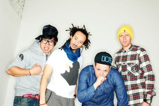 混编低音电子乐队Buck Em Clowns乐队中国巡演宁波站