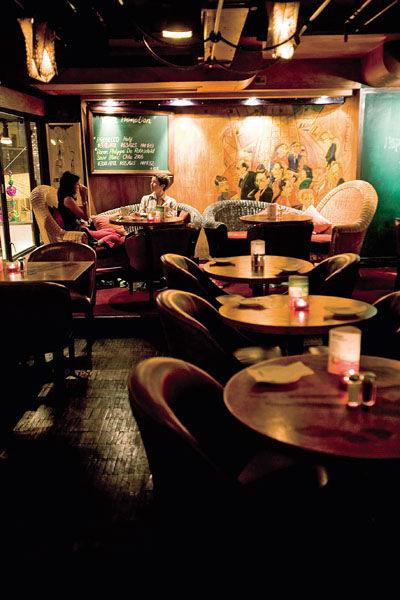 环境清幽的酒吧