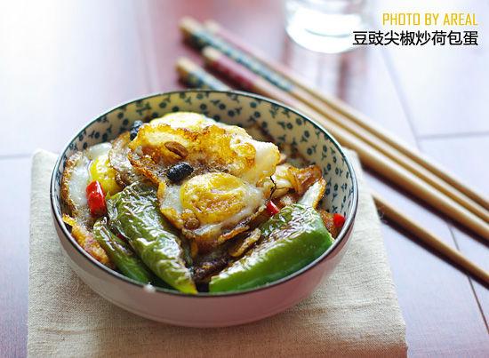 豆豉尖椒炒鹌鹑蛋
