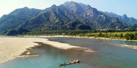 楠溪江漂流