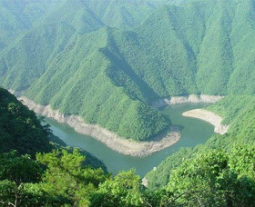 浙东大峡谷漂流