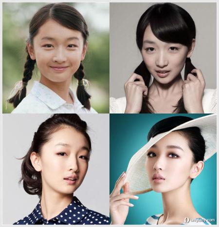 周冬雨复古发型出镜国内90后女星成熟大变身
