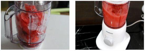 西瓜沙冰制作步骤